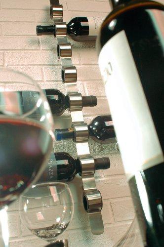 Blomus 65193 Weinflaschen-Wandhalter Cioso, edelstahl matt - 4