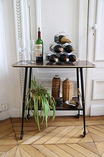 Compactor Kitchen ran8662Flaschenregal Circolare, Metall, Silber Satiniert, 28x 28x 14,5cm - 4