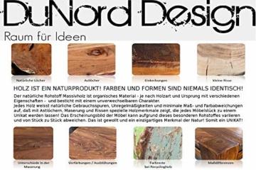 DuNord Design Weinregal Fass Regal Holz 14 Flaschen 60cm Flaschenregal Natur Tannenholz Massiv - 7