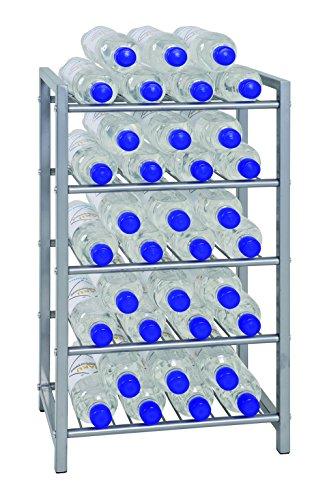 Haku-Möbel Flaschenständer, Aluminium, 34 x 22 x 59 cm - 2