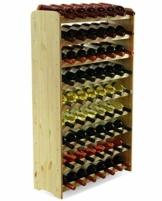 Flaschenregal Weinschrank Weinständer Weinregal für 63 Flaschen NEU! - 1